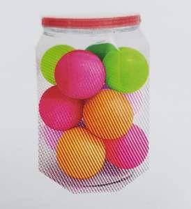 Brinquedo macico bola lisa 55mm - Pet Toys - com 12 unidades