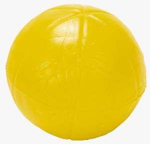 Brinquedo macico bola lisa sortida pequena - Pet Toys - 4,5cm