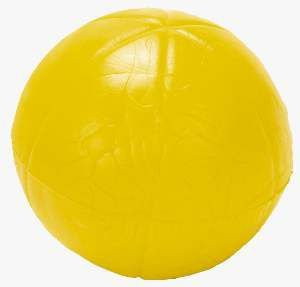 Brinquedo macico bola lisa sortida media - Pet Toys - 5,5cm