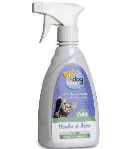 Banho a seco para gatos 500ml - Dog Clean