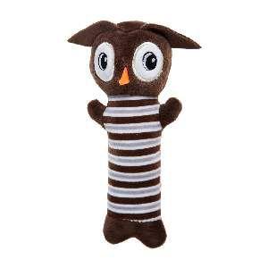 Brinquedo de Pelúcia Corujinha - Home Pet - 10x4x20cm