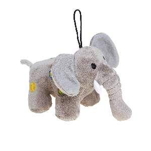 Brinquedo de Pelúcia Elefante com Bolinhas - Home Pet - 8x5x14cm
