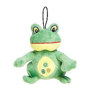 Brinquedo de Pelúcia Sapo - Home Pet - 18 cm