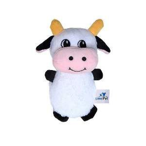 Brinquedo de Pelúcia Vaquinha - Home Pet - 12x4x15cm