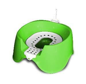 Sanitario higienico plastico koko cat verde - MEC PET - 45x38x33cm