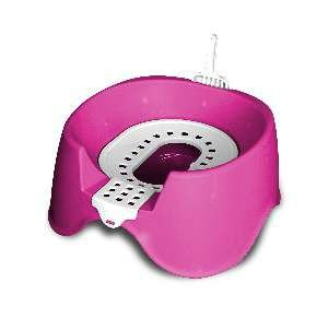 Sanitario higienico plastico koko cat rosa - MEC PET - 45x38x33cm