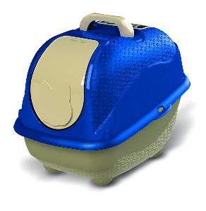 Sanitário WC Cat Box Pop - Plast Pet - Azul