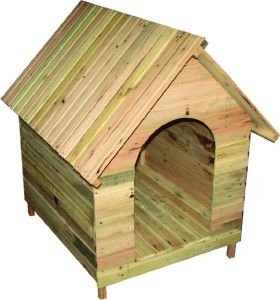 Casa madeira pinus N6 - 117x82x109cm