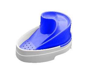Fonte plastica automatica tobo fonte azul bivolt 2,5L - MEC PET - 38x27x19cm