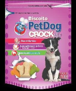 Biscoito crock mix 500g - Pet Dog
