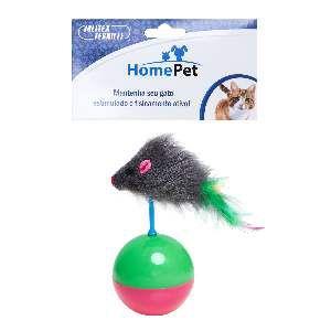 Brinquedo plastico joao bobo para gatos - Home Pet - 5x5x11cm