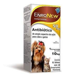 Antibiótico EnroNew - World Veterinária - 50 mg
