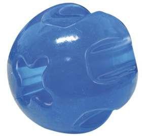 Brinquedo Bola Maciça Flexível para Adestramento - Furacão Pet - 75 mm