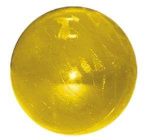 Brinquedo Bola Maciça Flexível - Furacão Pet - 55 mm