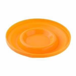 Brinquedo plastico frisbee laranja - Club Pet Maxx - 20,5cm