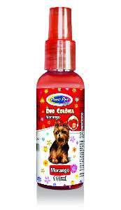Deo Colônia Plast Pet Care Morango - Pet Licenciados - 110 ml