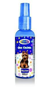 Deo Colônia Plast Pet Care Machos - Pet Licenciados - 110 ml