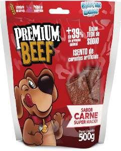 Bifinho carne premium 500g - Mister Bone