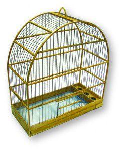 Gaiola Arco Nº 3 - Club Pet - (40,5 cm x 45 cm x 20,5 cm)