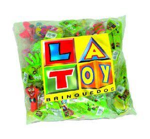 Kit Brinquedos de Látex Misto - Latoy - c/ 24 un