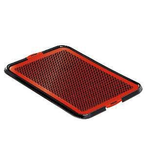 Sanitario xixi facil pop vermelho - Furacao Pet - 61x44x2cm