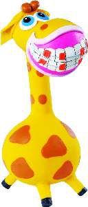 Brinquedo de Látex Girafita - Latoy - 19,7 cm