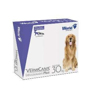 Vermífugo VermiCanis Plus - World Veterinária - 2,4 g