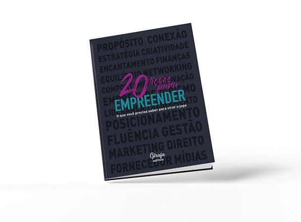 """Livro """"20 lições para empreender"""" - SOMOS"""