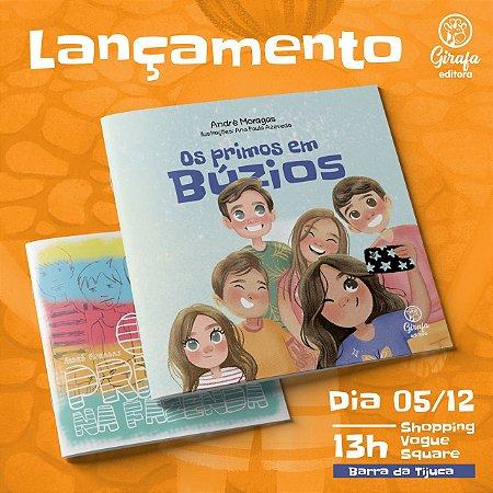 """COMBO ESPECIAL COM DOAÇÃO EXTRA - 2 livros """"Os primos em Búzios"""" e """"Os primos na fazenda"""""""