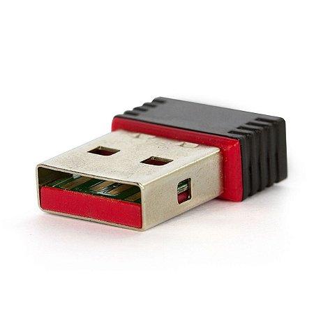 ADAPTADOR WIRELESS NANO USB 150 Mbps