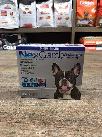 Nexgard 4,1 a 10 kg
