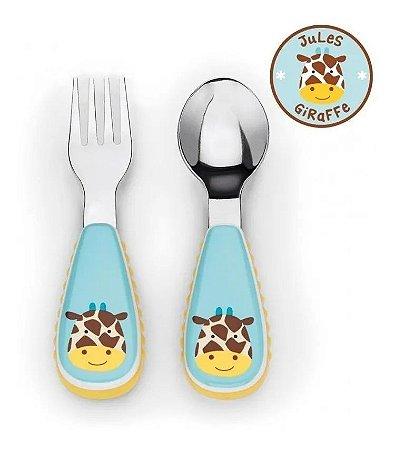 Conjunto de Talheres Zoo Girafa Skip Hop