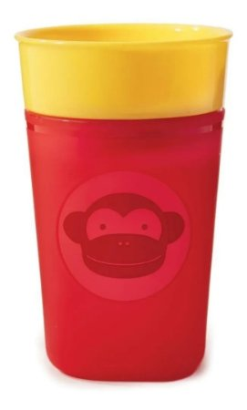 Copo de treinamento Zoo Macaco Skip Hop 266Ml