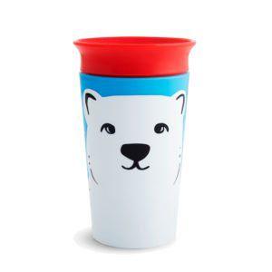 Copo Grande 360 Miracle Wild Urso Polar 266ml Munchkin