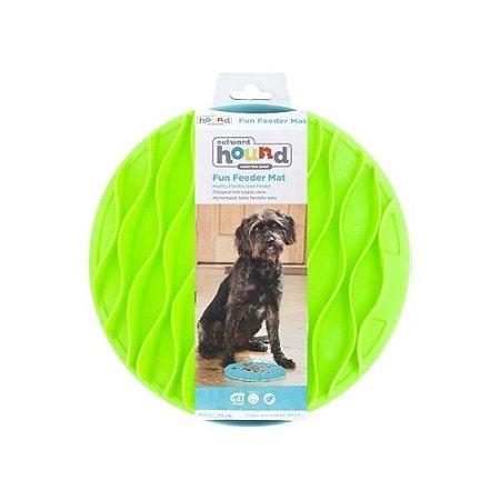 Comedouro Lento para Cães Fun Feeder Mat Verde G