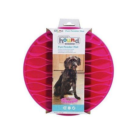 Comedouro Lento para Cães Fun Feeder Mat Pink G