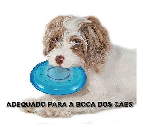 Brinquedo para Cães Frisbee Orka Flyer Azul Petstages