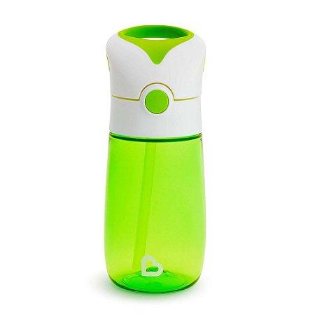 Copo com Canudo Flip and Go Verde 355 ml Munchkin