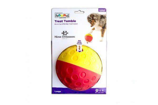 Jogo Inteligente para Cães Bolinha Recheável Treat Tumble G
