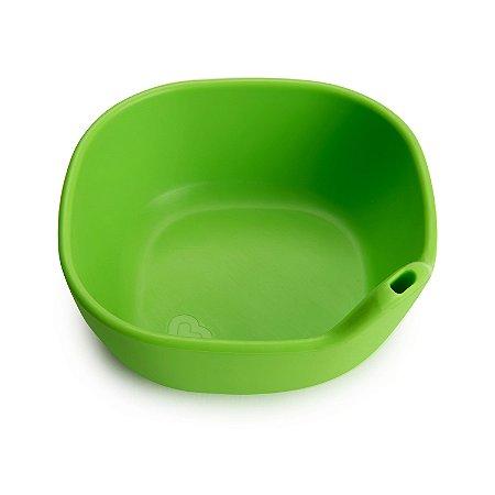 Tigela de Silicone Verde Munchkin