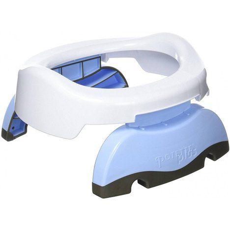 Privadinha Portátil e Redutor de Assento Potette Plus Azul