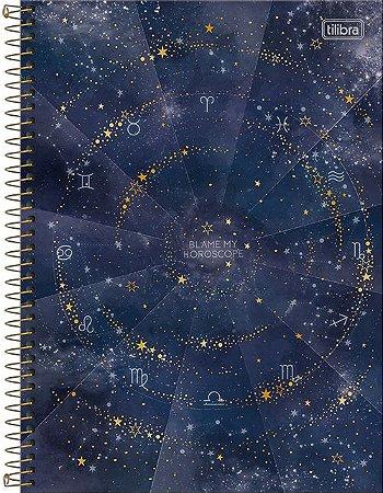 Caderno Universitário 1 Matéria Magic Azul