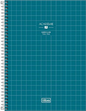Caderno Universitário 1 Matéria Académie Quadriculado
