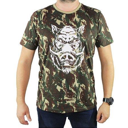 Camiseta Zk Adventure Camuflada Masculina