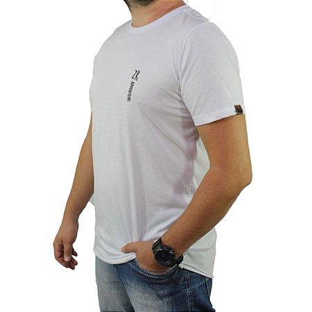 Camiseta Zk Adventure Lisa Branca Masculina