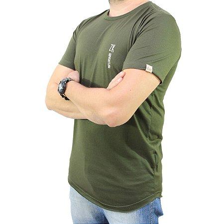 Camiseta Zk Adventure Lisa Verde Masculina