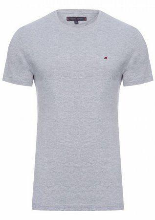 Camiseta Tommy Hilfiger Classic Cinza