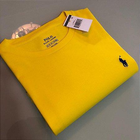 Camiseta Ralph Lauren Basic Custom-Fit Amarela