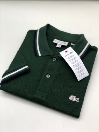 Camisa Polo Lacoste Croc Limited Edition Verde