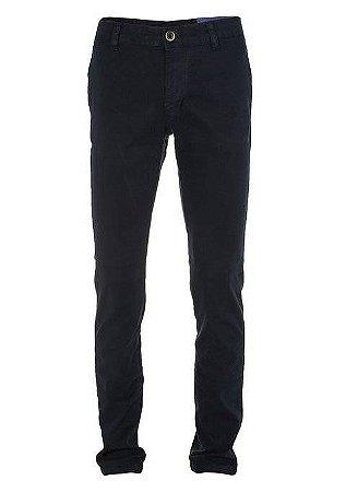 Calça Ralph Lauren Masculina de Sarja Chino Stretch Slim Fit Azul marinho